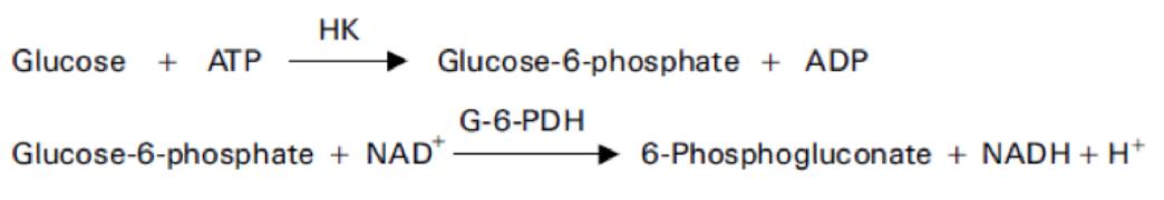 Glucose (Glu) Principle of the Method